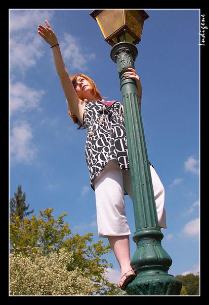 Du haut du lampadaire