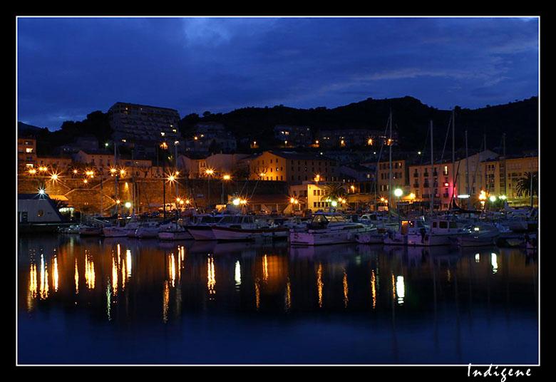 Port-Vendres de nuit