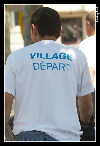 Le village départ