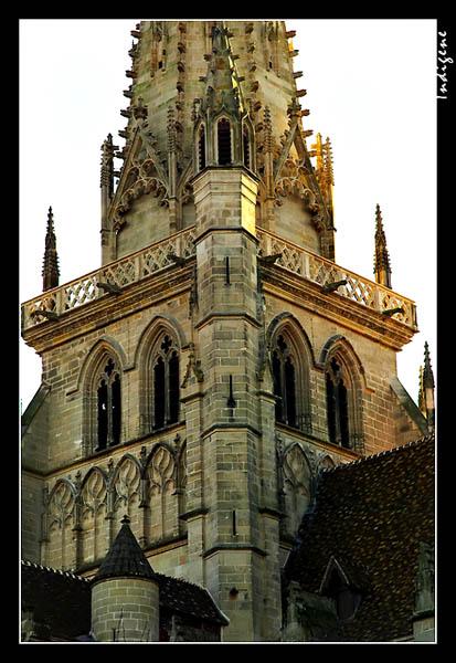 Cathédrale Saint-Lazare à Autun