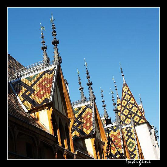 Les toits de Bourgogne