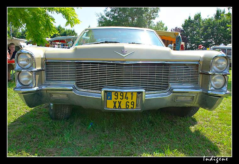L'imposante Cadillac
