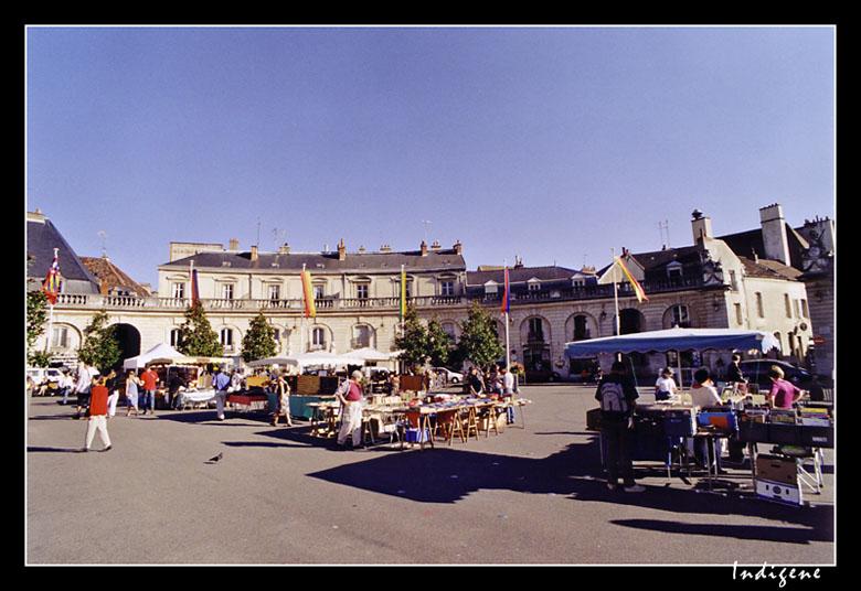 Dijon - Place de la libération