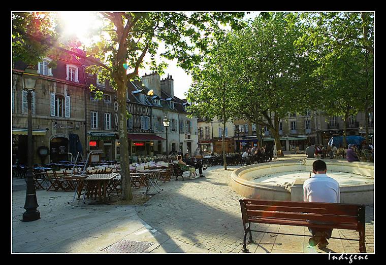 Dijon - Place Emile Zola