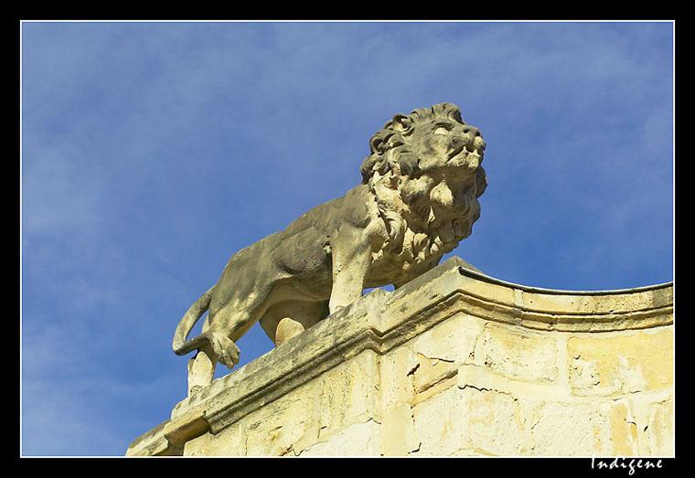 Lion de l'hôtel Legouz de Gerland