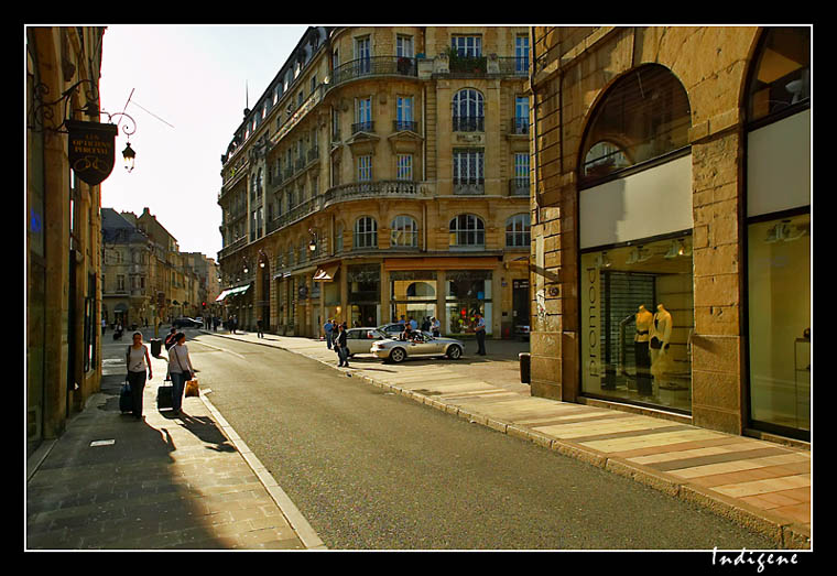 Rue de la Liberté à Dijon