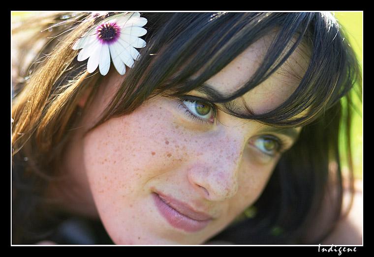 Le sourire et la fleur