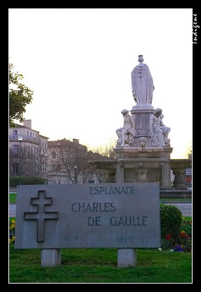 L'esplanade Charles de Gaulle