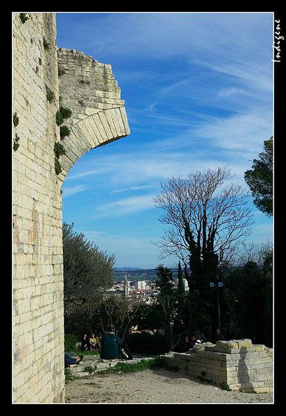 Panorama depuis la Tour Magne