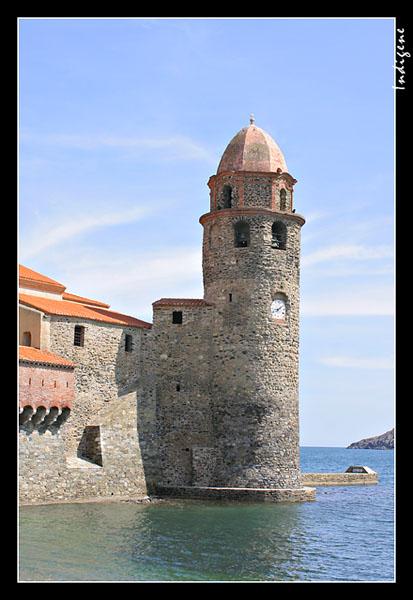 L'ancien phare médiéval de Collioure