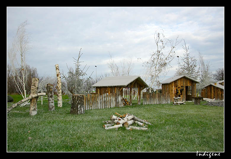 Village de bucherons