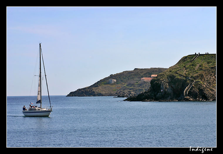 La mer à Collioure