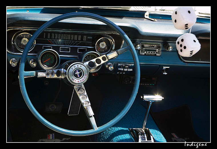 Volant de Ford Mustang