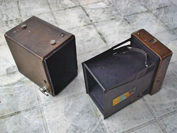 ouverture d'un appareil photo box