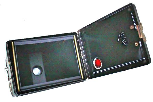 Intérieur d'un appareil photo GAP