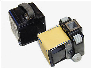 Kodak Brownie Flash ouvert
