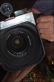 Objectif Mamiya Sekkor 75 mm adapte au 6x12