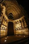 photo Le tympan de la cathédrale de reims