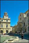 photo La place de la république à Arles