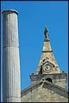 photo La colonne et l'église