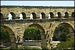 photo Les arches du Pont du Gard