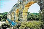 photo Peinture du Pont du Gard
