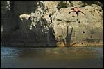 photo Plongeur du Pont du Gard
