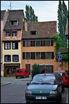 photo Une rue colorée