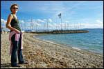 photo Barbara devant le port