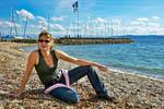 photo Barbara au Lac de Neuchâtel