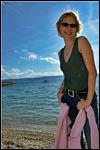 photo Barbara sur cette plage