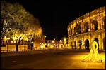 photo La place des Arènes à Nîmes