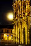 photo La Lune éclaire les Arènes