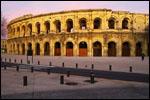 photo Les arènes de Nîmes au petit matin