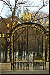 photo Le portail des jardins de la fontaine