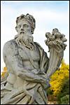 photo Statue à la corne d'abondance