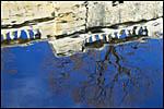 photo L'eau bleue du bassin