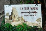 photo En direction de la Tour Magne