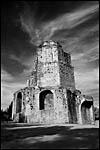 photo La Tour Magne en noir et blanc