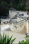 photo Le double escalier de la fontaine