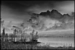 photo Le Lac du Bourget (NB)