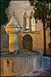 photo La fontaine de Vaison