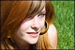 photo Les yeux bleus de Cindy