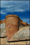 photo Une tour de la forteresse