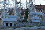 photo Village sous la neige