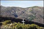 photo Un paysage parsemé de croix