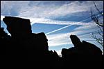 photo Un ciel où tous les avions se croisent