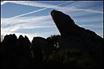 photo Des rochers dressés vers le ciel