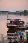 photo Le bâteau sur la Saône