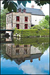 photo Le moulin et son reflet